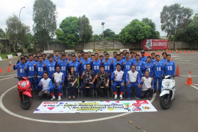 Kompetisi Safety Riding Tingkat SMK