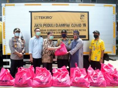 Tekiro Tools Bagikan 1000 Paket Sembako