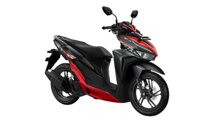 Honda Vario 150 Sporty Black Red