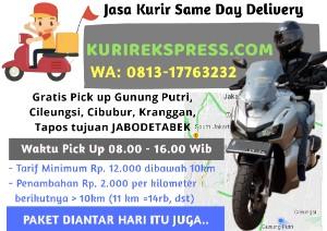 Jasa Kurir Sameday Delivery Service Jabodetabek