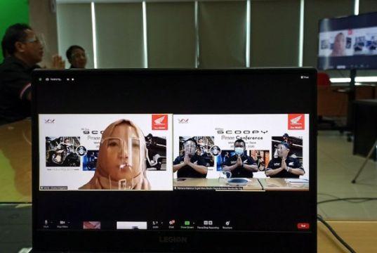 Launching Virtual All New Honda Scoopy