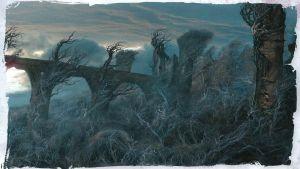 Boceto de Dol Guldur