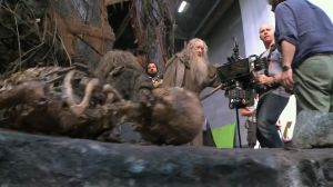 Ian McKellen rueda en Dol Guldur