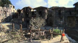 Valle destruida