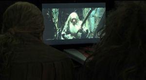 Gandalf huye de Dol Guldur