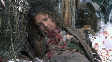 Una aldeana muerta