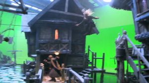 Una acrobacia de Legolas