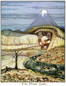 La Montaña Solitaria, según J.R.R. Tolkien