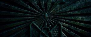 El trono de Erebor sin la Piedra del Arca