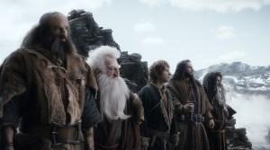 Bilbo y los Enanos de camino a Erebor