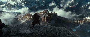 Los Enanos contemplan las ruinas de Valle