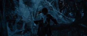Bilbo sigue a las arañas