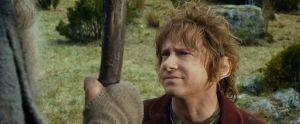Bilbo habla con Gandalf