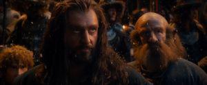 Bilbo y los Enanos en Esgaroth