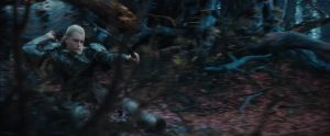 Legolas, un Elfo ágil