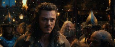 Bardo advierte a Thorin