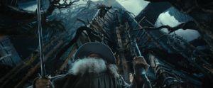 Algo cae sobre Gandalf
