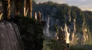 Galadriel y Gandalf en Rivendel
