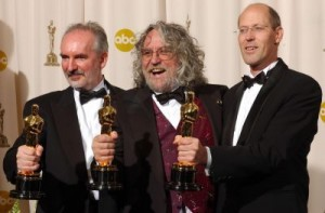 Alan Lee, Dan Hennah y Grant Major