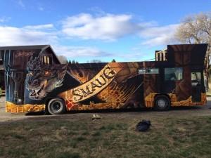 Autobus Smaug - Fiestas Noruega4
