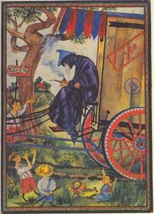 Sergei Iukhimov - Gandalf llega a Hobbiton