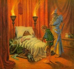 La muerte de Thorin, según Darrell K. Sweet