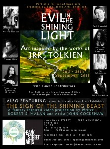 Evil in the Shinning Light, muestra de arte Tolkiendili en Inglaterra