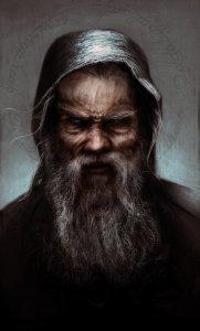 Saruman como Zarquino, según Fabio Leone