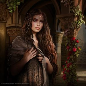 Arwen, según Magali Villeneuve
