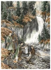 Aragorn descubre la cota de malla de mithril, según Anke Katrin Eißmann