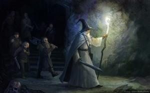 La Compañía del Anillo en Moria, según Julia Alekseeva