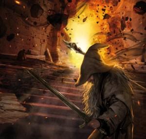 Gandalf protege la puerta del Balrog, según Magali Villeneuve