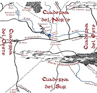 Resultado de imagen de Mapa de La Comarca en castellano