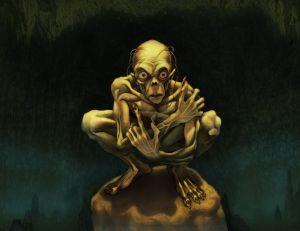 Gollum, según Daniel Mikah Govar