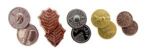 Set de monedas de El Señor de los Anillos de Shire Post Mint
