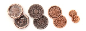 Set de monedas de El Hobbit de Shire Post Mint