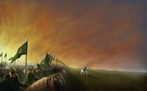 La última carga de Théoden, según Adrian Bara
