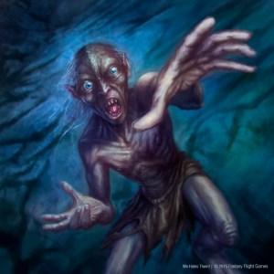 Gollum, según Álvaro Calvo Escudero