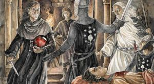 Beregond se interpone entre Denethor y Faramir, según Anke Katrin Eißmann