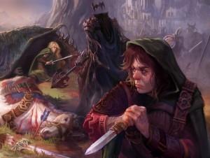 Éowyn, el Rey Brujo y Merry, según Carmen Sinek