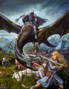 Éowyn se enfrenta al Rey Brujo, según Gordon Napier