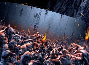El Muro del Bajo asediado, según Iván Cavini