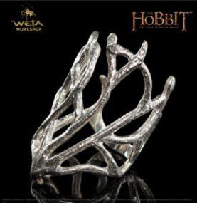 Weta Workshop pone a la venta la réplica del anillo de Thranduil