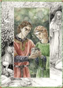 Aotrou e Itroun, según Anke Katrin Eißmann
