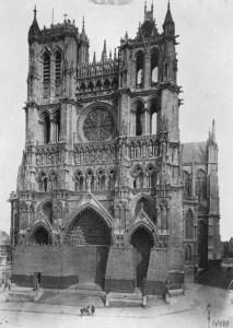 Catedral de Notre Dame de Amiens, 1916