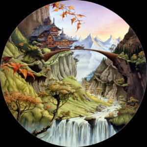 Rivendel, según Rodney Matthews