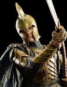 Escultura de guerrero Elfo de la Última Alianza de Weta Workshop