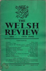 The Welsh Review (diciembre de 1945)