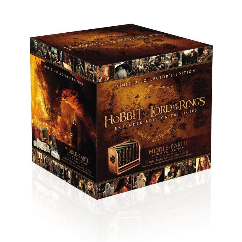 Pack de las trilogías de \'El Señor de los Anillos\' y \'El Hobbit\' en ...