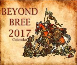 Calendario Beyond Bree 2017 - Ilustración de Tomás Hijo